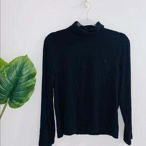 🦋 4/$30 Ralph Lauren Black Long Sleeve Turtleneck